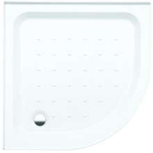 Coram Quadrant Shower Tray White