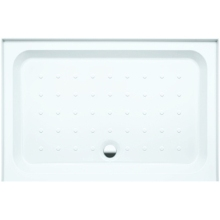 Coram Rectangle Shower Tray 1200mm x 800mm - White