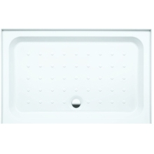 Coram Rectangle Riser Tray For Alcove 1200mm x 760mm - White