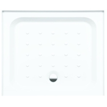 Coram Rectangle Riser Tray For Alcove 900mm x 760mm - White