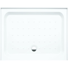 Coram Rectangle Riser Tray For Alcove 1000mm x 800mm - White