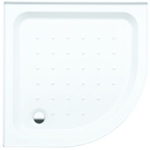 Coram 800mm x 800mm Quadrant Riser Shower Tray - White