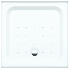 Coram Riser Tray Universal Square 760mm x 760mm White