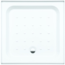 Coram Riser Tray Universal Square 900mm x 900mm White