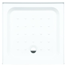 Coram Square Riser Tray For Alcove 760mm x 760mm - White