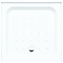 Coram Square Riser Tray For Alcove 900mm x 900mm - White
