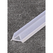 Coram Stylus Glass Screen Acrylic Floor Seal - 1200mm