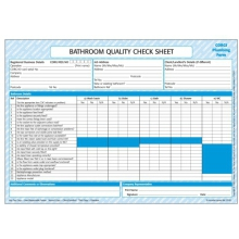 CORGI Direct Bathroom Quality Checklist - CP40