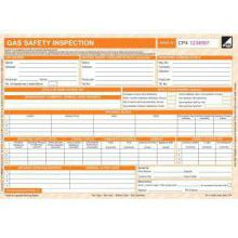 CORGI direct Gas Safety Inspection Form - CP4 - New Design