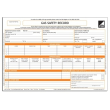 CORGI direct Gas Safety Record - CP1