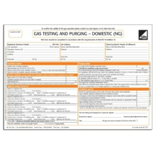 CORGI direct Gas Testing and Purging - Domestic Form - CP32