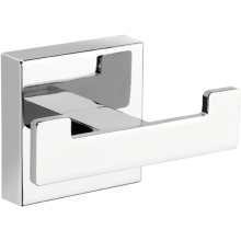 Croydex 54 x 87 x 48mm Cheadle Double Robe Hook Chrome