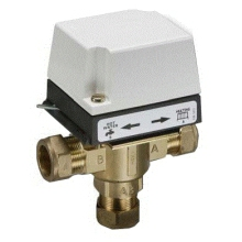 Danf 3Port Valve C/W Act 22mm HS3