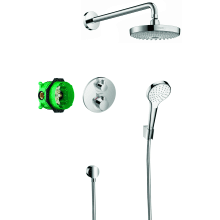 Hansgrohe Design ShowerSet Croma Select S / Ecostat S