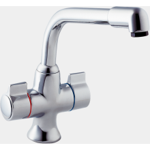 Deva Sauris Mono Sink Mixer Chrome SMS172