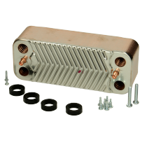 DHW Heat Exchanger (HE35 Before Prefix XF) 173545