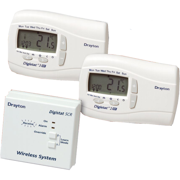 Digistat + 2 RF (24HR) Wireless System