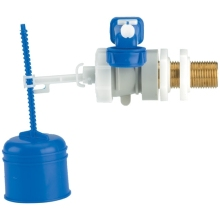 Dudley Hydroflo Professional Brass Tail Side Inlet Valve