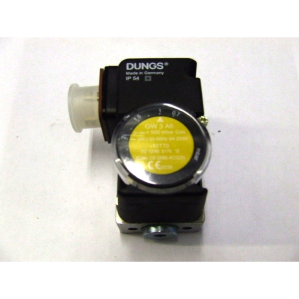 DUNGS AIR PRES SWITCH .4-3 MBAR GW3 A6