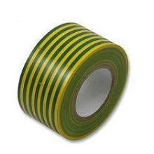 Electrical Tape 19mm x 33m Green/Yellow