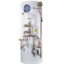 ThermaQ Evocyl Smart UV Indirect Pre-Plumbed Twin Zone Cylinder 210L