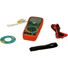EX410 EXTECH MULTIMETER WITH TEMP