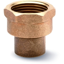 "Female Coupler 25mm X 3/4"" Bronze"