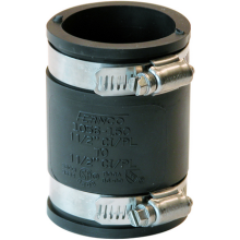 "Fernco Flexible Coupling 1 1/2"" 1056-150"