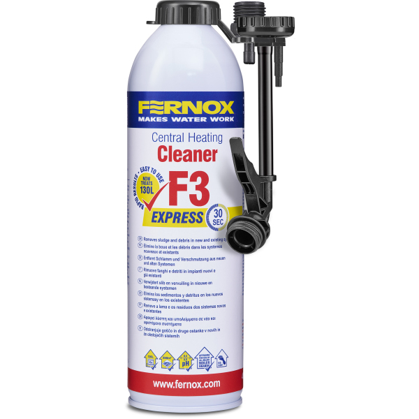 Fernox F3 Express Central Heating Cleaner 400ml