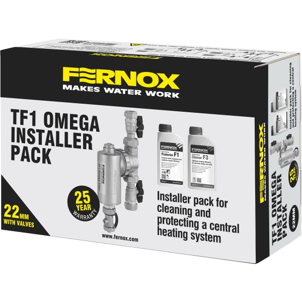 Fernox Omega Installer Pack W/ Valves 22mm