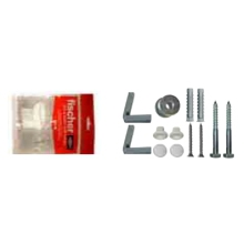 Fischer Pan/Bidet Fixing Kit Side