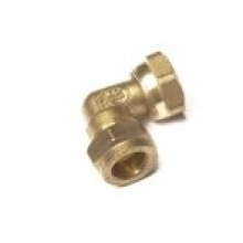 Flowflex Dzr Compression Bent Tap Connector 15 x 1/2""