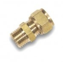 Flowflex Dzr Compression Copper X Male Iron Straight Adaptor 15 x 1/4""