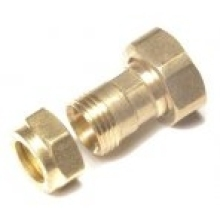 Flowflex Dzr Compression Straight Tap Connector 22 x 3/4""