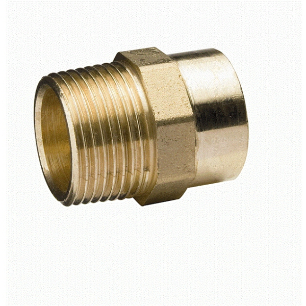 Flowflex Solder Ring Male Iron Straight Connector 42mm x 1 1/2""