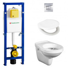 Fluidmaster All-In-1 Wall Hung WC Installation Pack