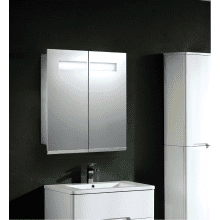 Frontline 600mm Mirrored Cabinet