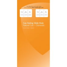 Gas Rating Slide Rule GRB1