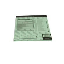 Gas Safety Inspection Report Pad REGP50