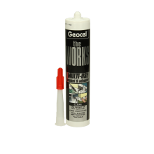 Geocel The Works Silicone Sealant Clear