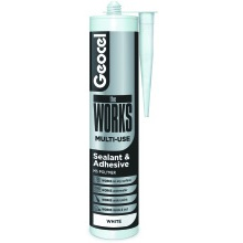 Geocel theWORKS Sealant and Adhesive 290ml - White