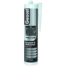 Geocel theWORKS Sealant and Adhesive 290ml - Clear