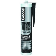 Geocel theWORKS Sealant and Adhesive 290ml - Black
