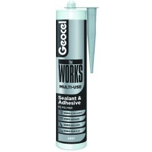 Geocel theWORKS Sealant and Adhesive 290ml - Grey