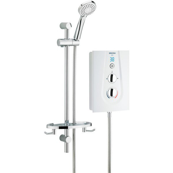Bristan Glee 8.5kW Electric Shower - White