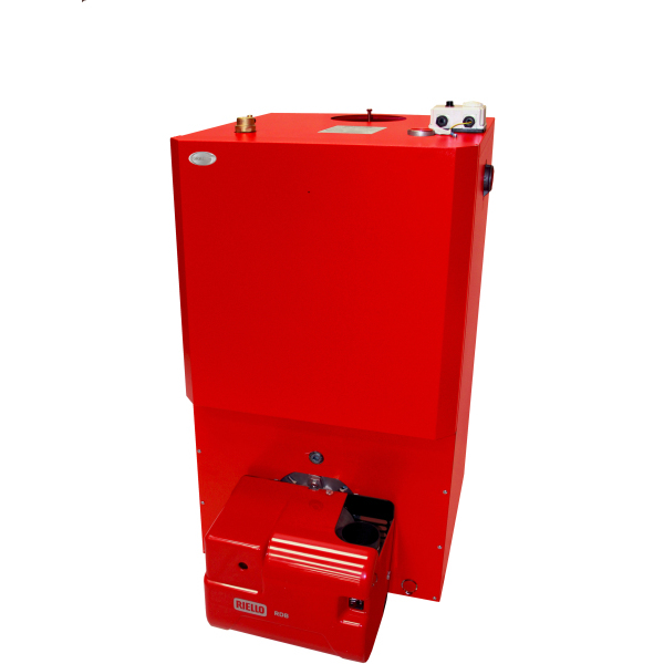 Grant Vortex Boiler House 46-58kW - Red