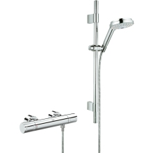 Grohe Grohtherm 3000 Cosmo Thermostatic Shower Exposed Valve Chrome