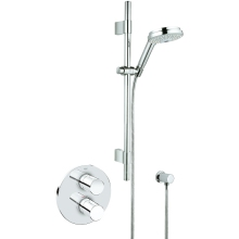 Grohe Grohtherm 3000 Cosmo Thermostatic Shower Built In Valve Chrome