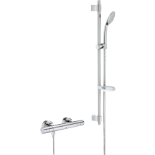 Grohe Grohtherm Thermostatic Shower 1000 Cosmo 900mm Chrome