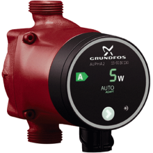 Grundfos Alpha 2 15-50N (130) Hot Water Circulator Pump 240V